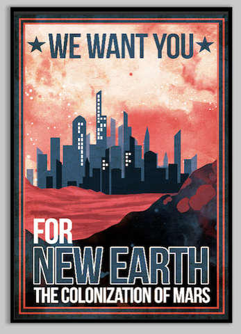 colonize-mars-space-poster