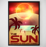 the-sun-space-poster