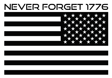 never-forget-1776-4x3-gloss-sticker