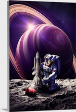 Load image into Gallery viewer, Kickflip Astronaut Prints or Canvas 2