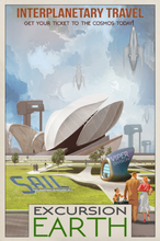 Load image into Gallery viewer, SKU: VIPEREARTH Excursion Earth Space Poster