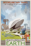 SKU: VIPEREARTH Excursion Earth Space Poster