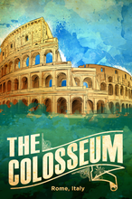 Load image into Gallery viewer, SKU: ROMAN The Roman Colosseum Poster