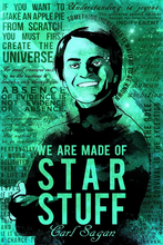 Load image into Gallery viewer, SKU: SAGAN Carl Sagan Science Quotes Poster