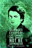 SKU: ROSALIND Rosalind Franklin Science Quotes Poster