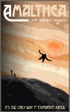 SKU: AMALTHEA Amalthea the ultimate skydive Travel Poster