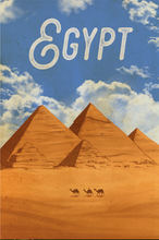 Load image into Gallery viewer, SKU: EGYPT Egypt Travel Poster
