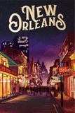SKU: NEWORLEANS  New Orleans Travel Poster