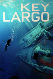 SKU: KEYLARGO Dive Key Largo Travel Poster