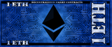 Ethereum 1 ETH Physical Ethereum Wallet