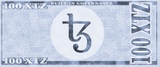 Tezos 100 XTZ Physical Tezos Wallet