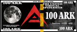 ARK 100 ARK Cold Storage Physical Wallet (Unloaded), Limited to 150