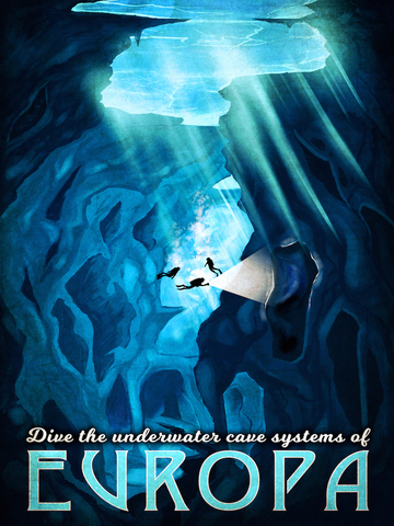 Dive Europa Poster