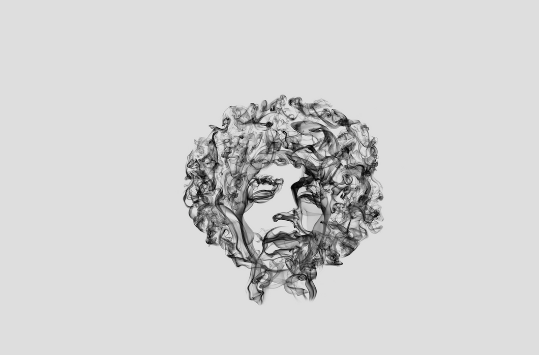 Jimi Hendrix Smoke Art