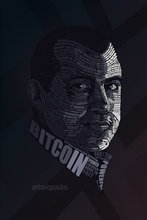 "Load image into Gallery viewer, Andreas Antonopoulos METAL PANEL, 16""X20"" SMALLER SIZE, LIMITED TO 21"