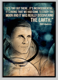 SKU: ANDERS Bill Anders Astronaut Space Quote Poster