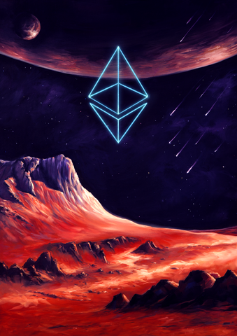 Ethereum Cosmic Art, Limited to 10