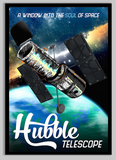 SKU: HUBBLE Hubble Telescope Travel Poster