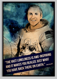 SKU: LOVELL Jim Lovell Astronaut Space Quote Poster