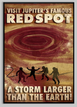 Load image into Gallery viewer, SKU: FUTUREJUPITER Visit Jupiter's Great Red Spot Poster