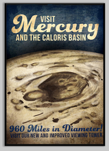 Load image into Gallery viewer, SKU: FUTUREMERCURY Mercury Space Poster