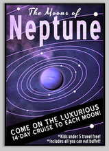 Load image into Gallery viewer, SKU: FUTURENEPTUNE The Moons of Neptune Poster