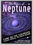 SKU: FUTURENEPTUNE The Moons of Neptune Poster