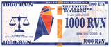 Ravencoin 1000 RVN Physical Ravencoin Wallet