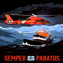 Load image into Gallery viewer, Coast Guard Rescue Memorable Art (Canvas Edition - Limited To 21)