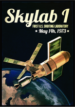 Load image into Gallery viewer, SKU: SKYLAB Skylab I, U.S. First Orbiting Laboratory Poster