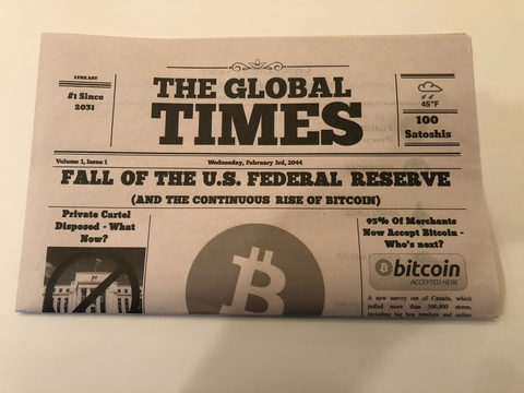 The Global Times, Vol 1 Issue 1 Newspaper, Year 2044
