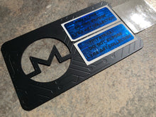 Load image into Gallery viewer, Monero XMR Black Metal Wallet, Limited to 100