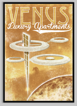 Load image into Gallery viewer, SKU: FUTUREVENUS Venus Luxury Apartments Travel Style Space Poster
