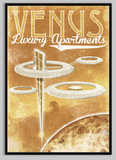 SKU: FUTUREVENUS Venus Luxury Apartments Travel Style Space Poster