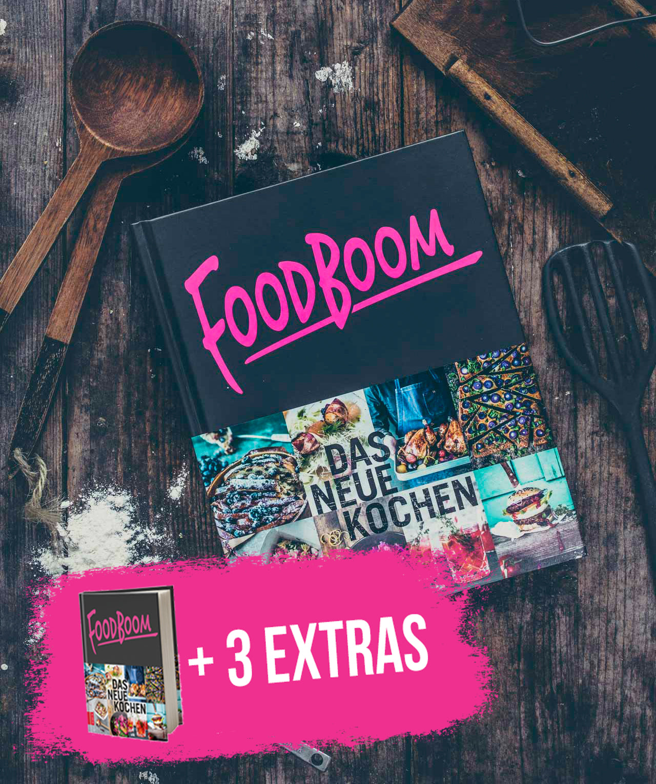 FOODBOOM - Buch