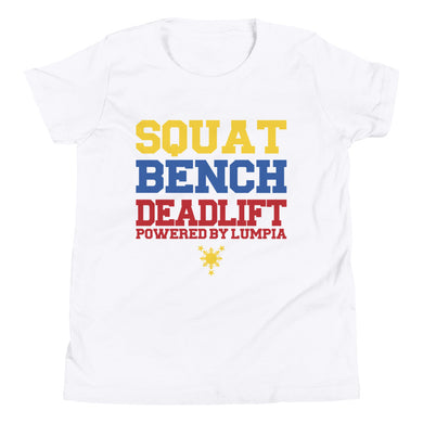 YOUTH SQUAT, BENCH, DEADLIFT TEE