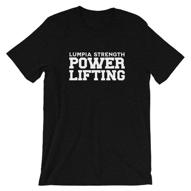 LUMPIA STRENGTH POWERLIFTING - BLACK