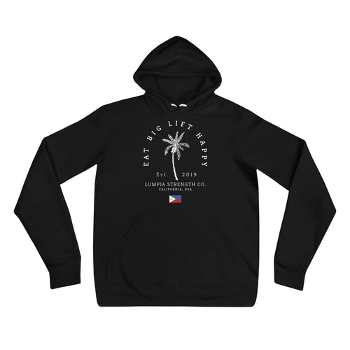 Eat Big Lift Happy Hoodie - Black