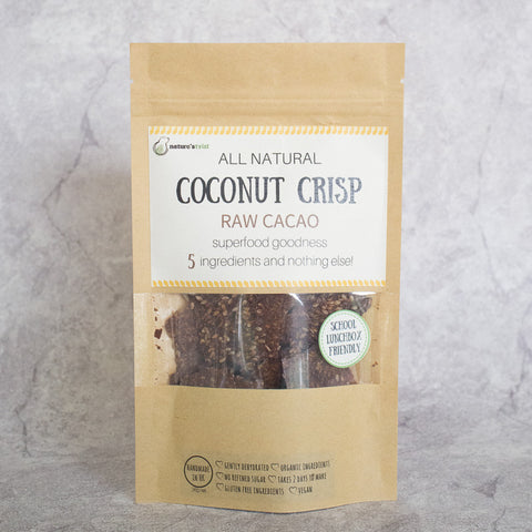 Coconut Crisp - Raw Cacao