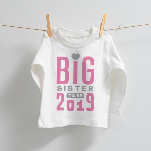 Big Sister to Be Pregnancy Announcement Top