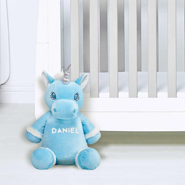 Personalised Blue Unicorn!