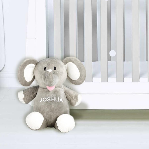 Personalised Grey Elephant