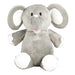 Personalised Grey Elephant Soft Toy for Baby
