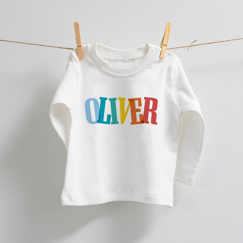 Fun Personalised Long Sleeve T-Shirt