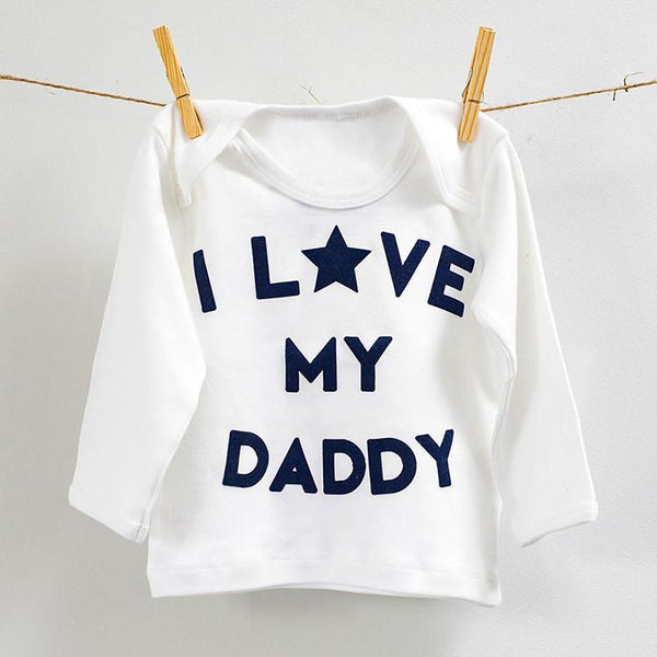 I love my daddy long sleeve top