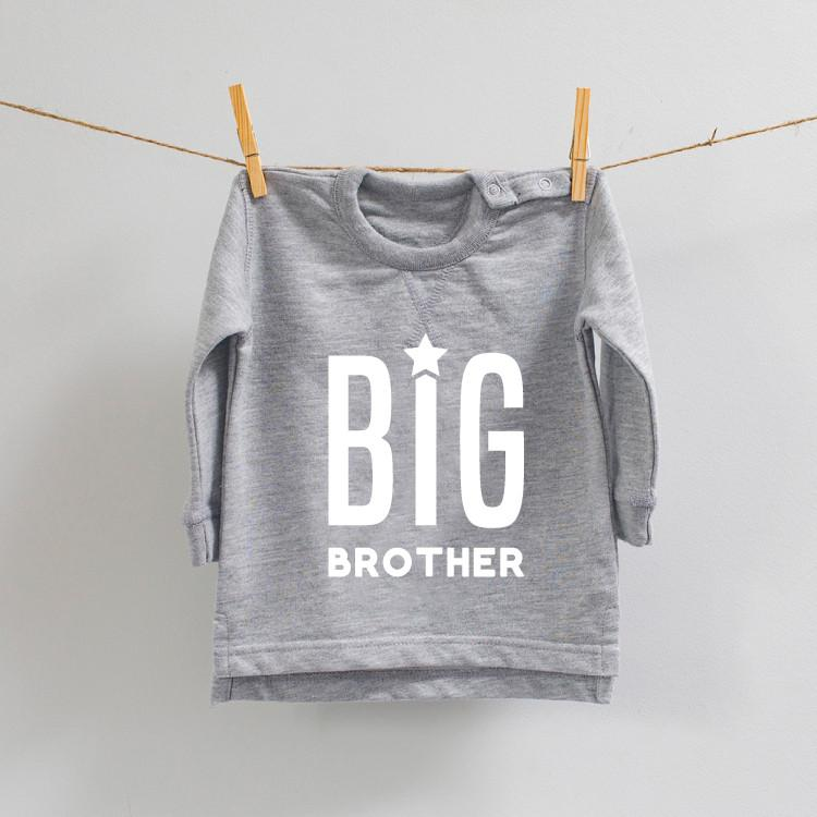 Big Brother Sweatshirt grey