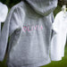 Personalised Baby Hooded Top Close Up
