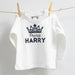 Personalised Prince Long Sleeve 100% Cotton Top