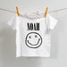 Personalised Smiley Band Face T Shirt