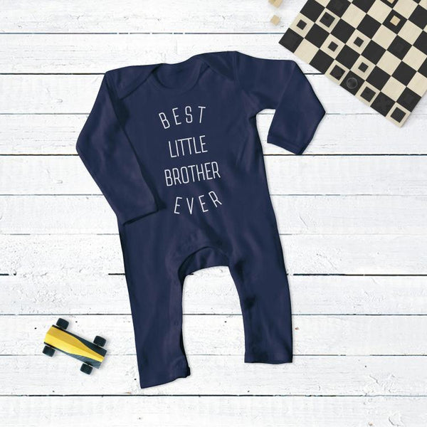 Best Little Brother Ever Romper Suit
